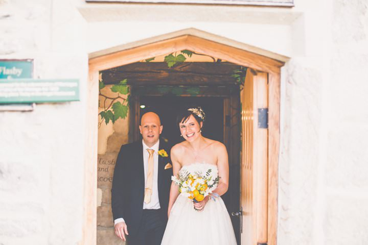 24 Elisabeth & David's Relaxed North Yorkshire Wedding. By James Melia