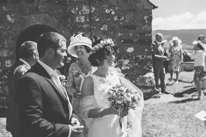 24 Iola & Rhys' Rustic, Yellow Themed Wedding. By Tony Fanning