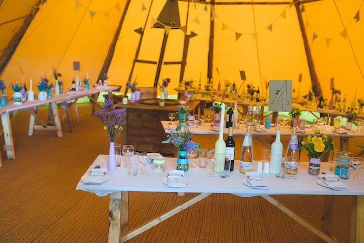 26 Carrie & Simon's Humanist Tipi Wedding. By Becky Ryan Photography