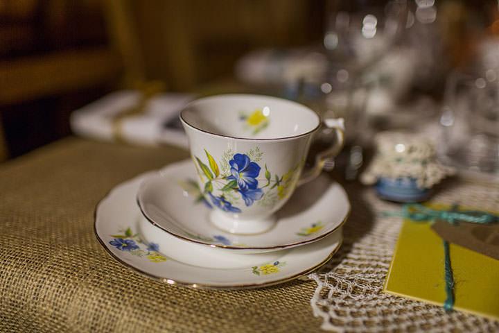 26 Hannah & Sam's Vintage, Handmade Afternoon Tea Wedding. By Paul Joseph