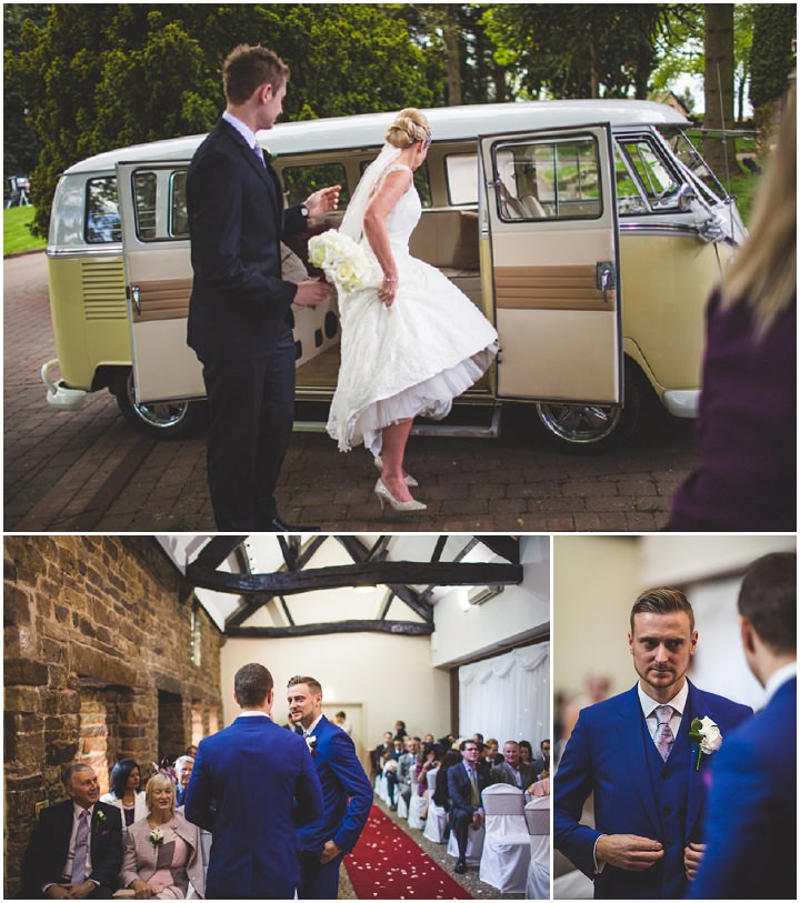 27 Fiona & John's Candlelit Sheffield Wedding. By S6 Photography