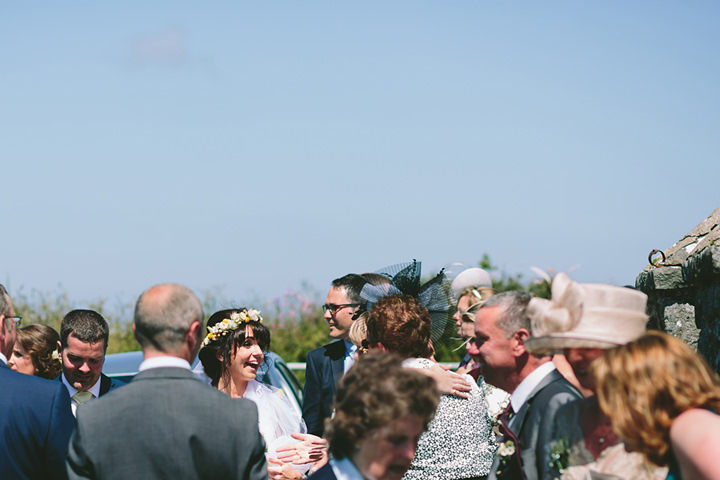 27 Iola & Rhys' Rustic, Yellow Themed Wedding. By Tony Fanning