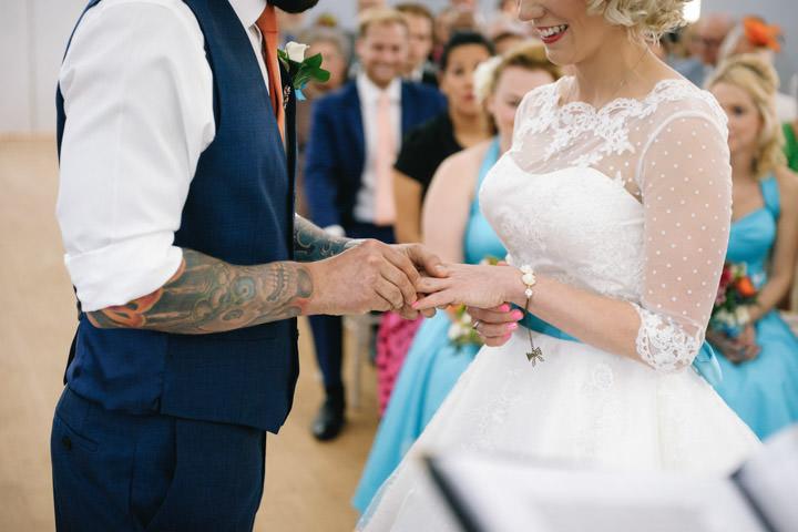 28 Beth & Tom's Rockabilly Barn Wedding. By Tino & Pip