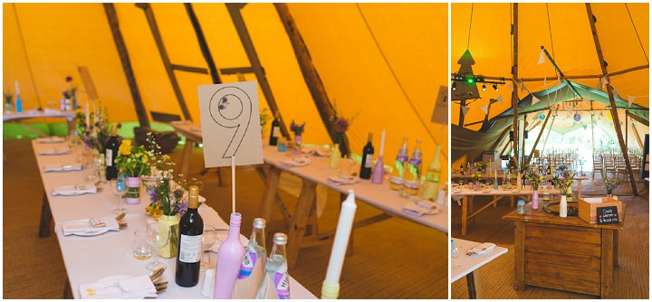 28 Carrie & Simon's Humanist Tipi Wedding. By Becky Ryan Photography