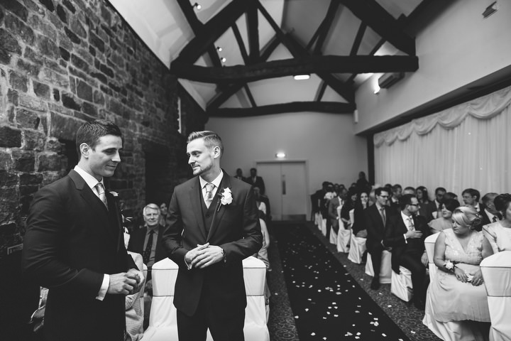 28 Fiona & John's Candlelit Sheffield Wedding. By S6 Photography