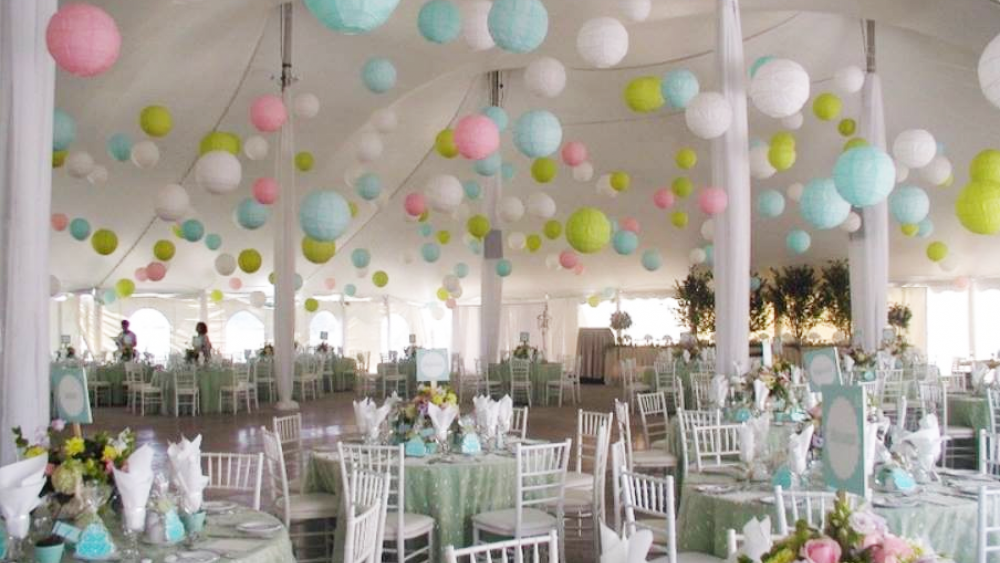 How To Hang Paper Lanterns From High Ceilings Boatylicious Wedding Decoration Ideas Image Collections