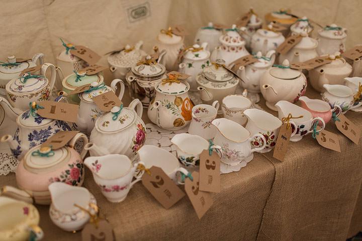 30 Hannah Sams Vintage Handmade Afternoon Tea Wedding By Paul Joseph