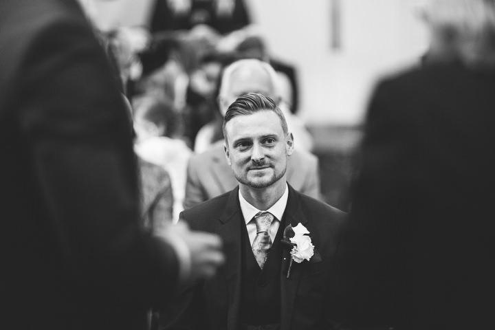 31 Fiona & John's Candlelit Sheffield Wedding. By S6 Photography