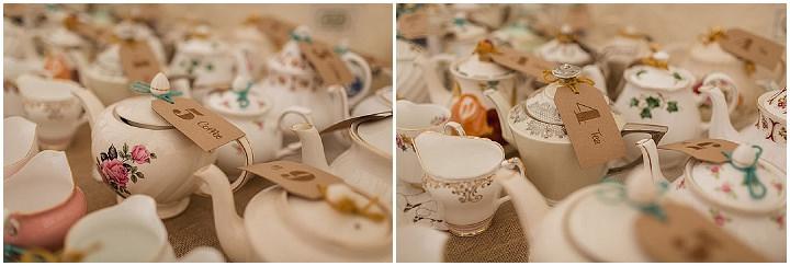 31 Hannah & Sam's Vintage, Handmade Afternoon Tea Wedding. By Paul Joseph