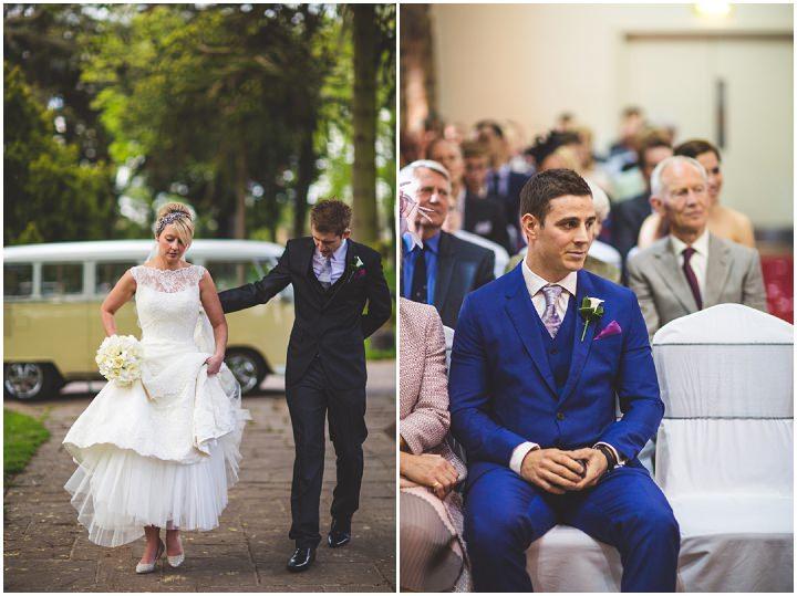 32 Fiona & John's Candlelit Sheffield Wedding. By S6 Photography