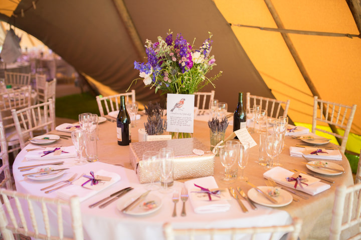 32 Frances & Iain's English Garden Tipi Wedding. By Pam Hordon
