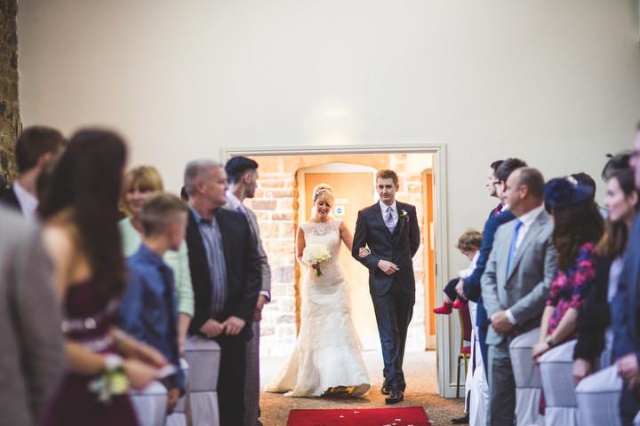 33 Fiona & John's Candlelit Sheffield Wedding. By S6 Photography