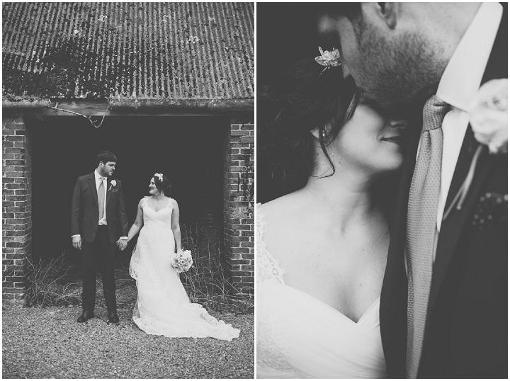 33 Laura & Greg's Peaches and Cream Barn Wedding. By Nicola Thompson