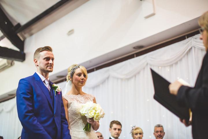 35 Fiona & John's Candlelit Sheffield Wedding. By S6 Photography
