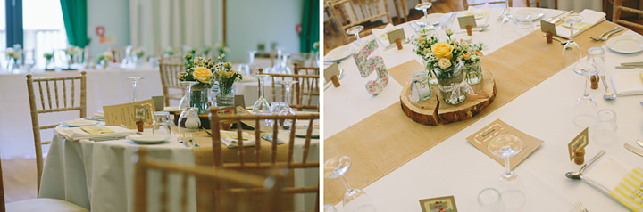 35 Iola & Rhys' Rustic, Yellow Themed Wedding. By Tony Fanning
