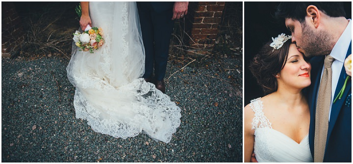 35 Laura & Greg's Peaches and Cream Barn Wedding. By Nicola Thompson