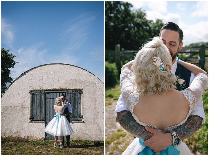 36 Beth & Tom's Rockabilly Barn Wedding. By Tino & Pip