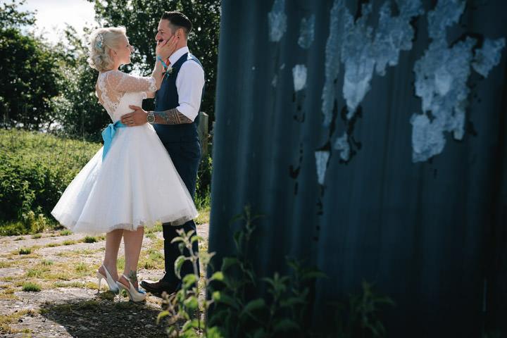 37 Beth & Tom's Rockabilly Barn Wedding. By Tino & Pip