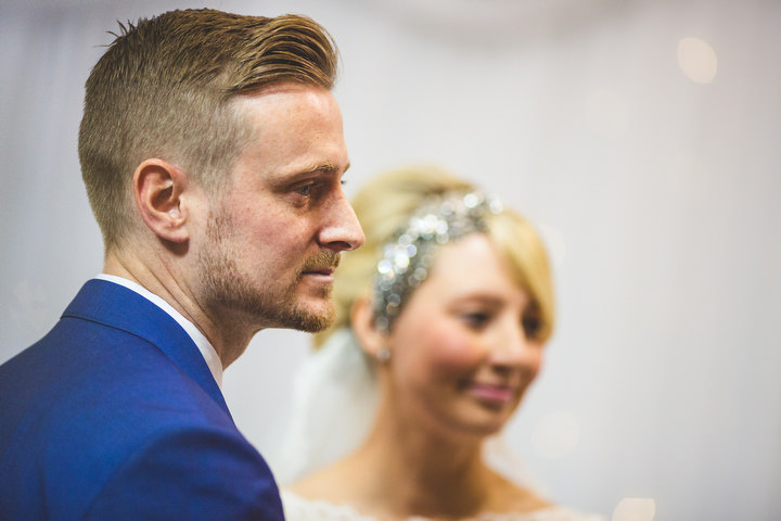 37 Fiona & John's Candlelit Sheffield Wedding. By S6 Photography
