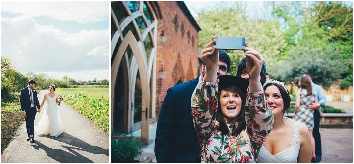 37 Laura & Greg's Peaches and Cream Barn Wedding. By Nicola Thompson