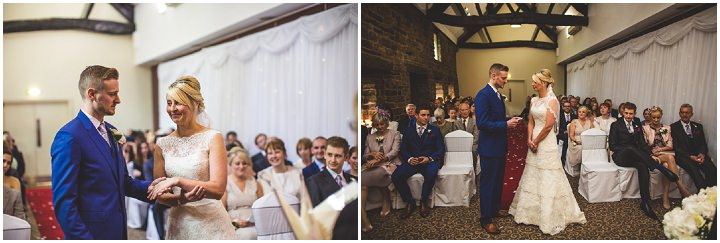 38 Fiona & John's Candlelit Sheffield Wedding. By S6 Photography
