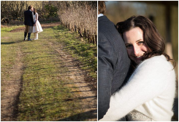39 Bridget & Sam's Intimate Outdoor Farm Wedding. By Laura Ellen Photography