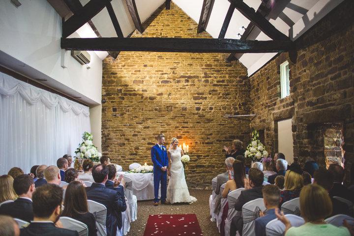 39 Fiona & John's Candlelit Sheffield Wedding. By S6 Photography