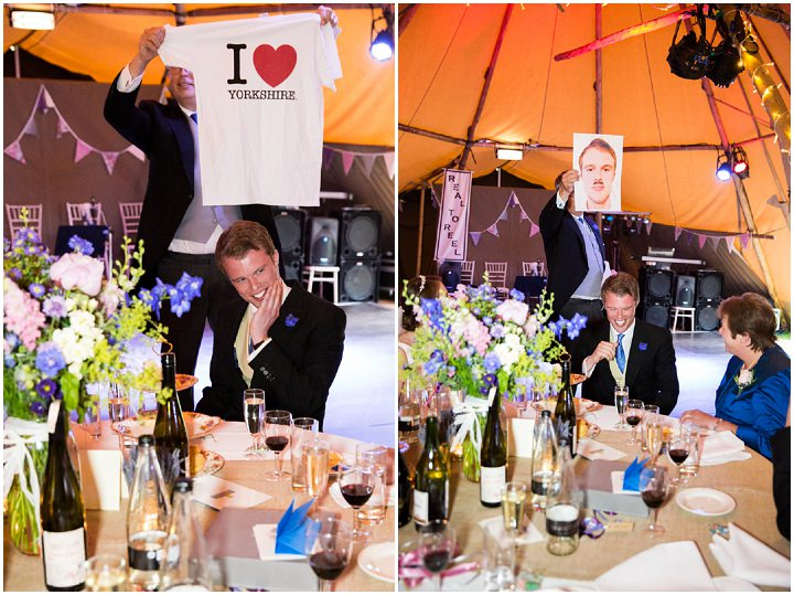 39 Frances & Iain's English Garden Tipi Wedding. By Pam Hordon