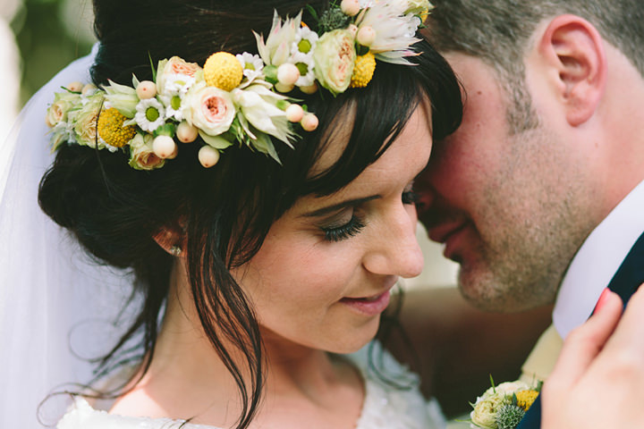 4 Iola & Rhys' Rustic, Yellow Themed Wedding. By Tony Fanning