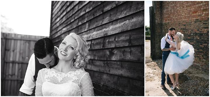 40 Beth & Tom's Rockabilly Barn Wedding. By Tino & Pip