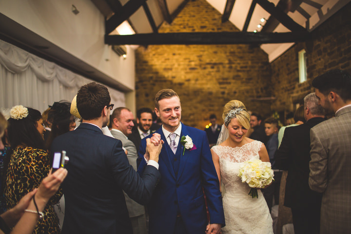 40 Fiona & John's Candlelit Sheffield Wedding. By S6 Photography