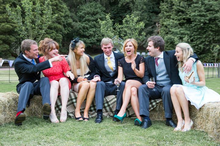 41 Frances & Iain's English Garden Tipi Wedding. By Pam Hordon