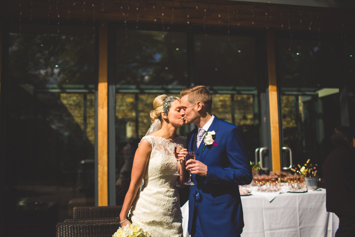 42 Fiona & John's Candlelit Sheffield Wedding. By S6 Photography