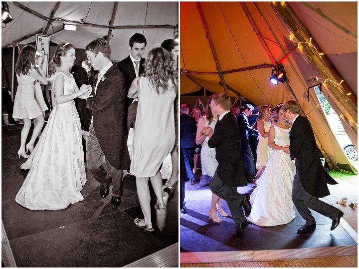 42 Frances & Iain's English Garden Tipi Wedding. By Pam Hordon