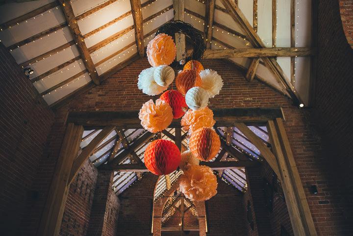 42 Laura & Greg's Peaches and Cream Barn Wedding. By Nicola Thompson