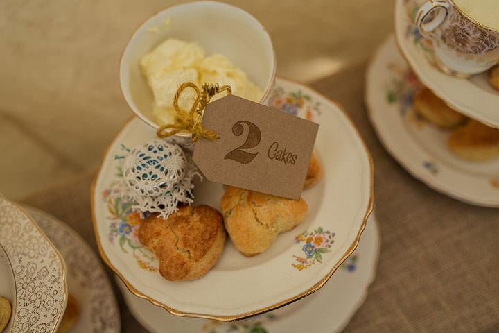 47 Hannah & Sam's Vintage, Handmade Afternoon Tea Wedding. By Paul Joseph