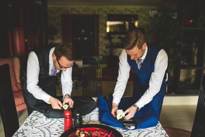 5 Fiona & John's Candlelit Sheffield Wedding. By S6 Photography