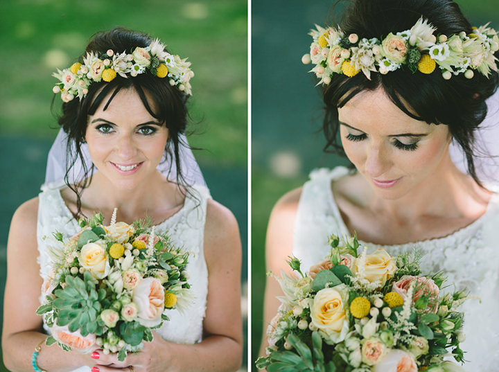 51 Iola & Rhys' Rustic, Yellow Themed Wedding. By Tony Fanning