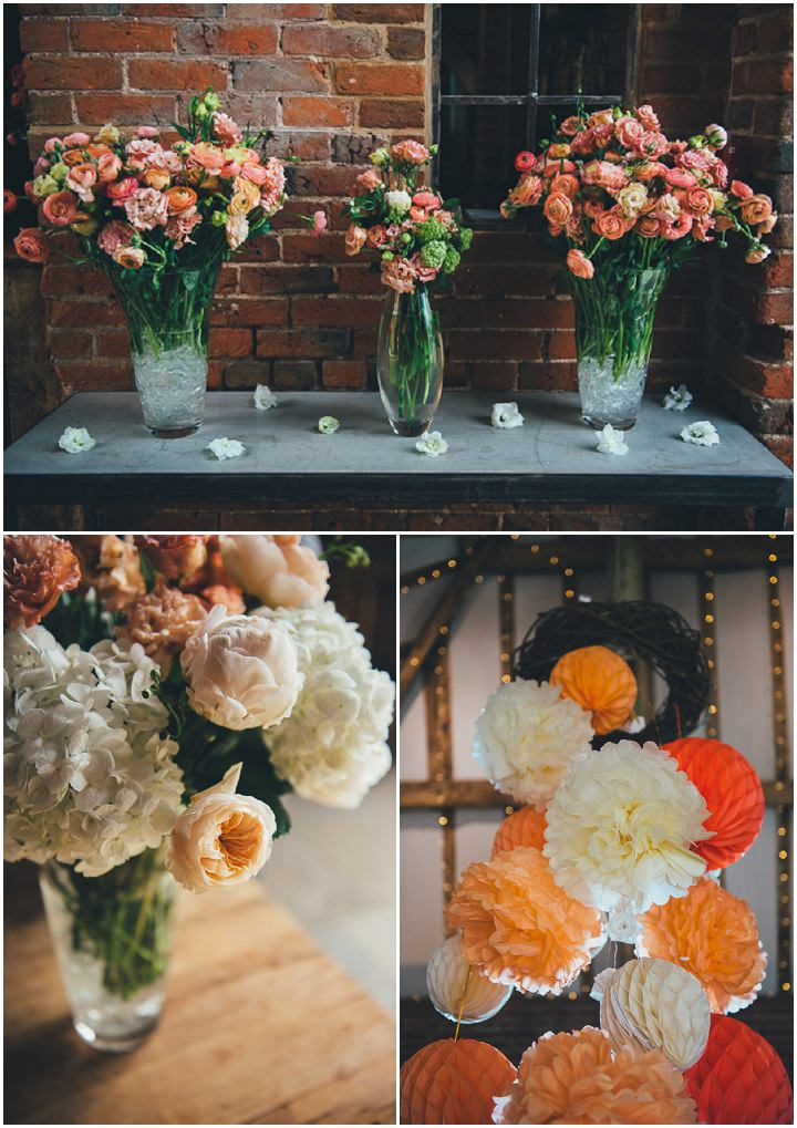 6 Laura & Greg's Peaches and Cream Barn Wedding. By Nicola Thompson