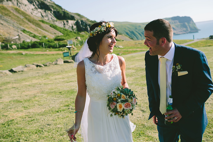 61 Iola & Rhys' Rustic, Yellow Themed Wedding. By Tony Fanning