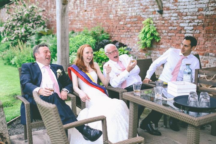 relaxed vintage wedding by emma boileau