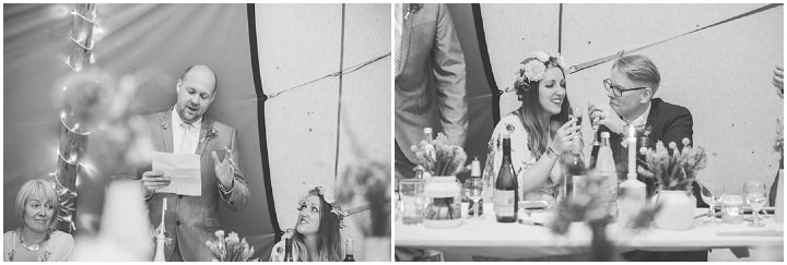 69 Carrie & Simon's Humanist Tipi Wedding. By Becky Ryan Photography