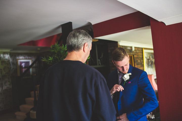 7 Fiona & John's Candlelit Sheffield Wedding. By S6 Photography