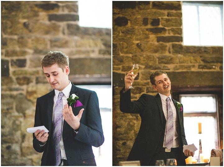 70 Fiona & John's Candlelit Sheffield Wedding. By S6 Photography