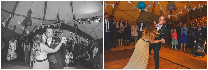 72 Carrie & Simon's Humanist Tipi Wedding. By Becky Ryan Photography