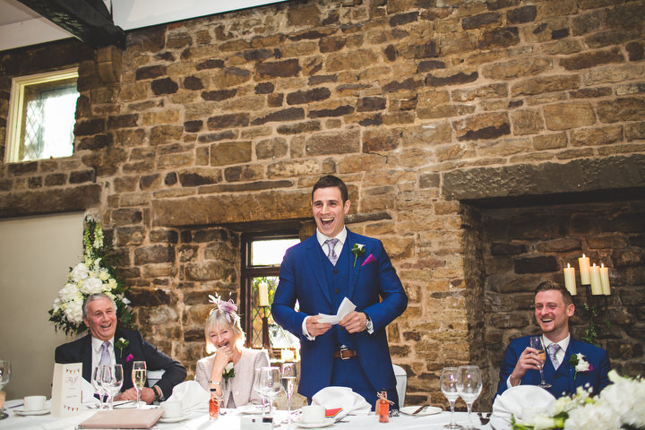 77 Fiona & John's Candlelit Sheffield Wedding. By S6 Photography