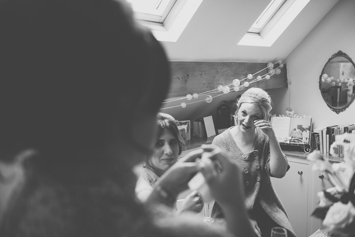 8 Laura & Greg's Peaches and Cream Barn Wedding. By Nicola Thompson