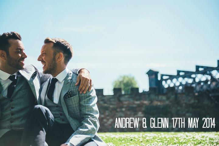 1 Andrew & Glenn's Mr Perfect Manchester Wedding. By Nicola Thompson