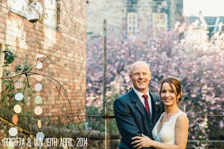 1 Brigitta & Iain's Natural Woodland Inspired Wedding. By Photos by Zoe