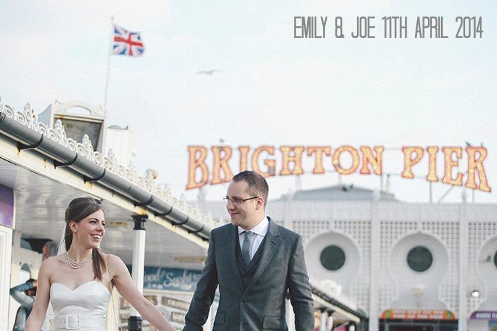 1 Emily & Joe's Indian Food Filled Brighton Wedding. By Paul Fletcher